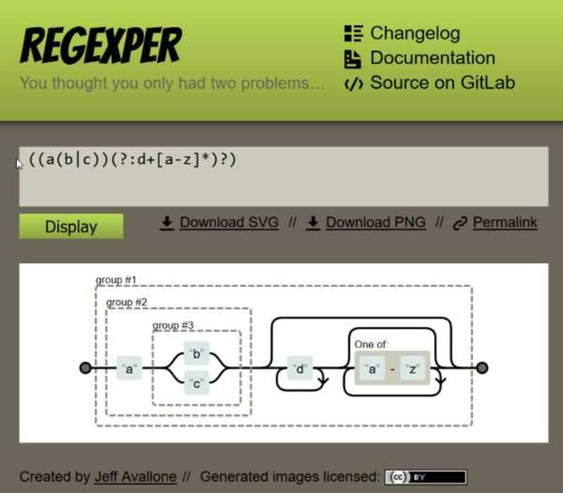 Improve Regular Expressions with RegExper - Generating Diagram of the Regular Expression