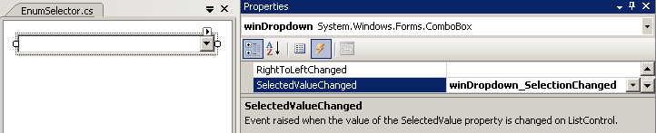 EnumSelector - Add SelectionChanged handler